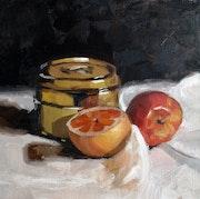 Fruits with metal. Frank Hegemann