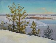 Pines over Dnieper. Victor Onyshchenko