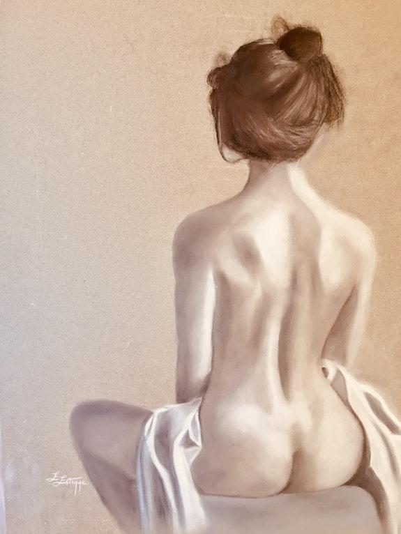 Jeune femme nue. Elizabeth Estienne Elizabeth Estienne