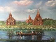 Temples au Myanmar (Birmanie).