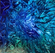 Abstraction bleue.