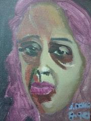 Mujer rosa.