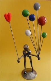 Vendeur de ballons. Pierre-Jean
