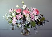 Jarrón con Flores. Montse Lamolda