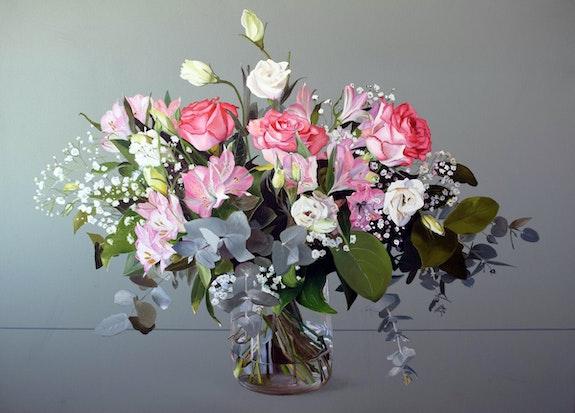 Jarrón con Flores. Montse Lamolda Montse Lamolda