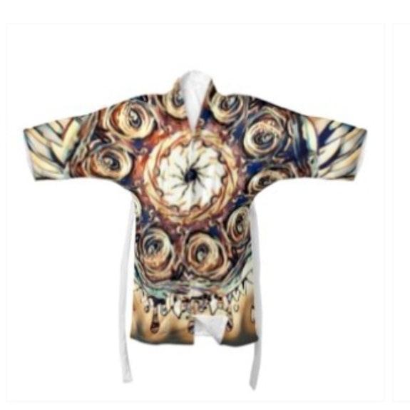 Designer kimono unisex. D M F Divine Feminine