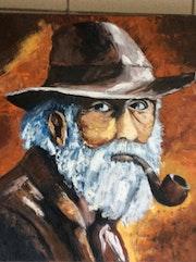 Le vieillard à la pipe. Felicia Butel