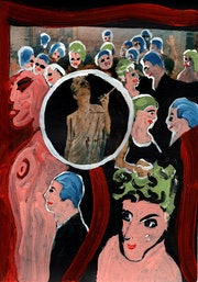 12- Sombras de Audrey y Schiele..