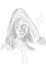 Dibujo previo de la muerte.