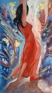 La Danse du Feu. Danielle Vasa