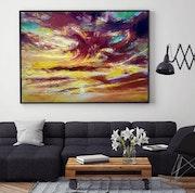 The beauty of sunset. Amani Art