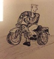 Motocyclart. Xp Riens