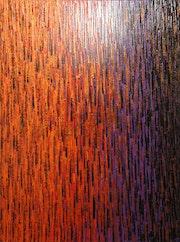 Pintura contemporánea: Gran desvanecimiento púrpura rojo anaranjado..