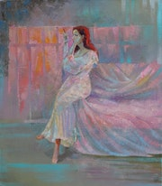 In the pink light. Sergey L
