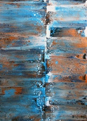 Blue scratchy #2. Sabine Brest