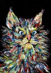 7- Señor Gato Angora..