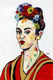 87- Frida Kahlo. Lll..