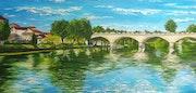 Saint-Jacques-Brücke. Vivie
