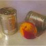 Canned green peas. Lea Laboy