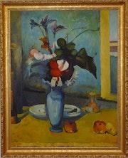Blue Vase. Mohammad Razavidinani