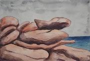 Mettez la main dessus - Chaos granitique. Olivier Moreau (Alias Omoro)