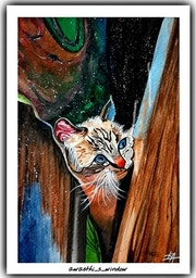 Hey Catty, Can you hear me?. Awasthi_S_Art