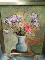 Still life of flowers. Víctor Arroyo Bielsa
