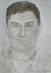 «Self-portrait». Matteo Lecci