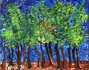 «En forêt iii», 2021. Jornod55
