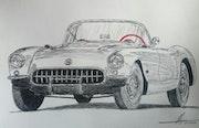 Corvette c2. Yves Briais