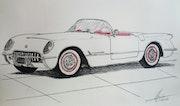 Corvette c1. Yves Briais