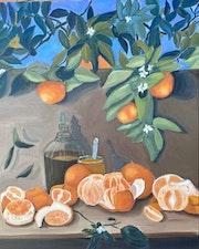 Naranjas. Mónica Cano Guio