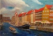 Puerto de Nyhavn..