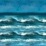 Quand les vagues s'en mêlent. Marie Carteron