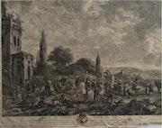 Jean Moyreau (°1690 -- +1762) d'après Philips Wouwermens (°1614 -- +1668).. Historien d'art, Archéologue; Chercheur Free-L.