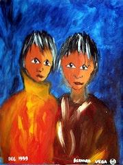 Jumeaux. Bernard Vega