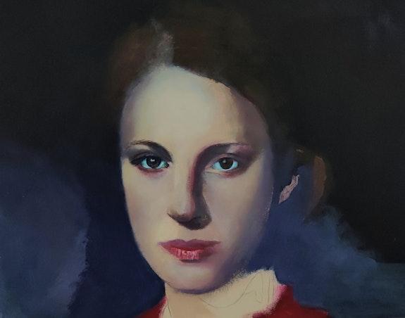 Portrait de jeune fille. Via Vlaminck Vlaminck