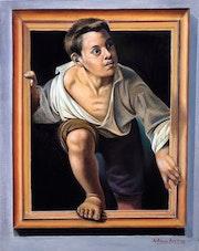 Saliendo del cuadro. Antonio Aguirre Nogues