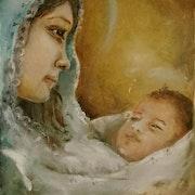 Natividad. María Marta Mancía