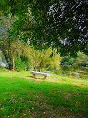 Paseo rio Miño, Lugo. M. Pilar