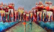 Mystique… Artiste peintre Nantes. Anne Sophie Artiste Peintre Nantes