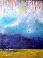 Paysage abstrait. Nathalie Vareille Sorbac