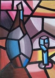 Abstract painting. Mansi Sharma