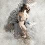 Abstract nude. Rémy Donnadieu