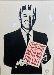 Legislative Influence for sale.
