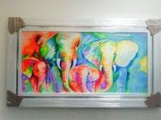 Familia de elefantes. Leidy Ramirez