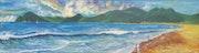 La playa.. Angel Sánchez…