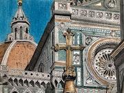 Le Duomo de Florence.. Πr Dessins