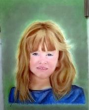 Portrait de fillette. Fantou16
