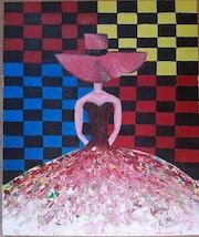 Robe multicolores. Elvira Tragaj